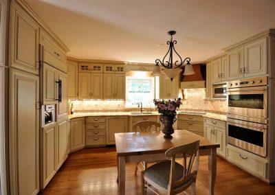 Old world style kitchen